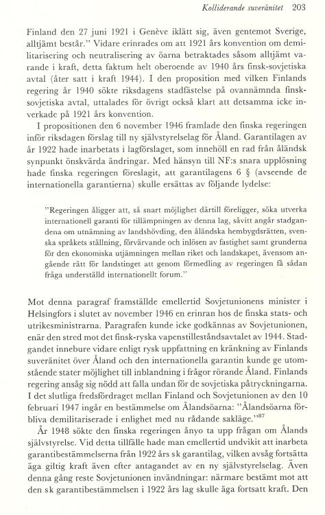 Åland sid 2003