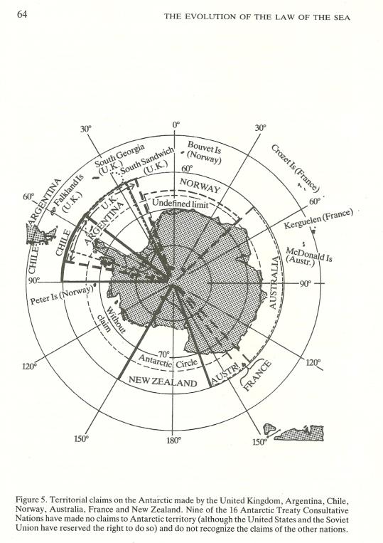 Sektorkraven på Antarktis
